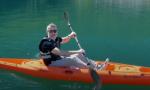 Riso al persico e in canoa verso San Fedelino