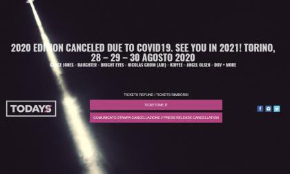 Cancellato TOdays 2020, arrivederci all'anno prossimo