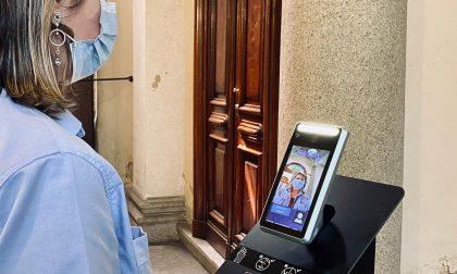 """Al Mauriziano arrivano i """"Thermal Gate"""": primo ospedale con postazioni fisse automatizzate per rilevare la temperatura FOTO"""