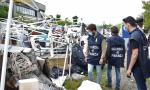 Discarica abusiva a cielo aperto: scoperti 3.000 metri quadri di rifiuti pericolosi FOTO