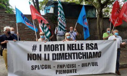 """I sindacati dei pensionati del Piemonte con gli anziani nelle Rsa: """"#senzaradicinoncefuturo"""""""
