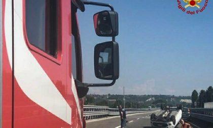 Un'ora e due incidenti sulle strade della provincia