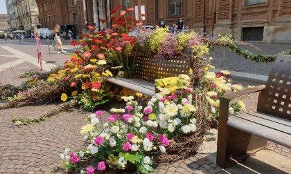 """""""Ripartiamo con un fiore nel centro di Torino"""""""