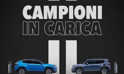 """Jeep e Juventus celebrano il nono scudetto consecutivo con """"Campioni in Carica"""""""
