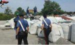 I Carabinieri sequestrano un capannone adibito a discarica abusiva VIDEO