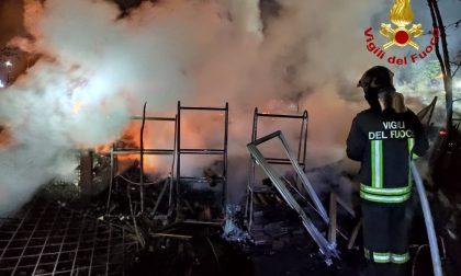 Incendio a Borgone di Susa: LE FOTO