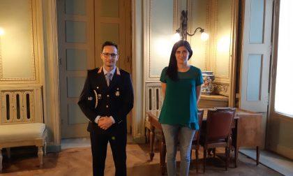 Appendino incontra il comandante Massimo Linarello
