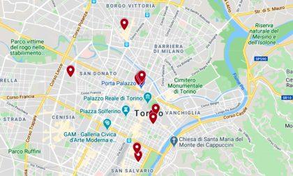 Undici nuove vie pedonali a Torino: LA MAPPA INTERATTIVA
