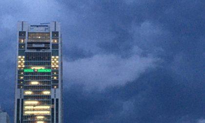 Bomba d'acqua su Torino ieri sera