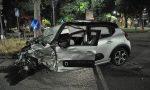 Incidente grave in Corso Francia: sembra un film, ma è tutto vero