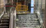Bomba d'acqua e grandine in centro a Torino: strade come fiumi