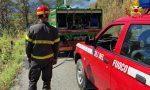 Il fuoco ha attaccato  600 metri quadrati di vegetazione sulle pendici del Rocciamelone