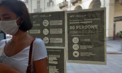 GTT: per ogni bus l'indicazione del numero massimo di persone che possono essere a bordo