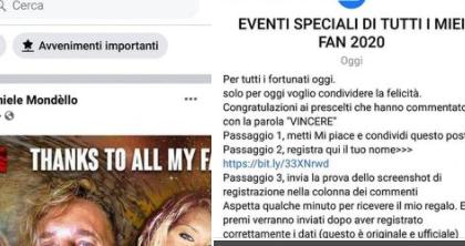 """Daniele Mondello contro gli sciacalli di Facebook: """"Attenzione al profilo falso a mio nome"""""""