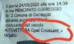"Lo svarione sul verbale diventa virale: multata Opel ""Croissant"""
