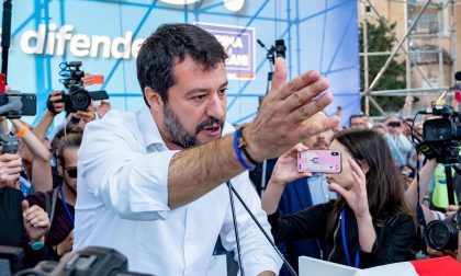 Tutte le strade portano a Venaria: Matteo Salvini fa tappa dopo il post shock
