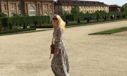 """Amarcord di Claudia Schiffer alla Reggia di Venaria: """"Location bellissima"""""""