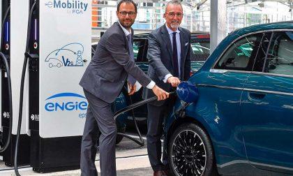 FCA inaugura il progetto Vehicle-to-Grid: le auto elettriche non prendono soltanto, ma restituiscono energia alla rete elettrica