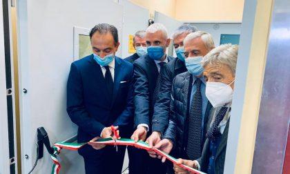 Il presidente Cirio inaugura la nuova area degenza Covid all'ospedale Oftalmico