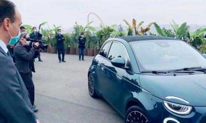 """Presentata oggi al Lingotto la nuova 500 elettrica """"simbolo di una nuova era"""""""