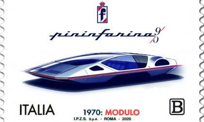 Francobollo in onore della Pininfarina