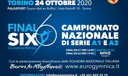 Presentata la Final Six di Ginnastica ritmica a Torino