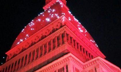 Mole Antonelliana illuminata questa sera alle 20.00