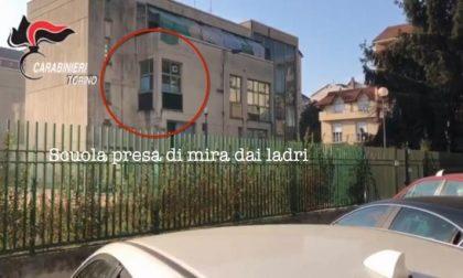 Tenta il furto in una scuola: tradito dal fascio di luce della torcia