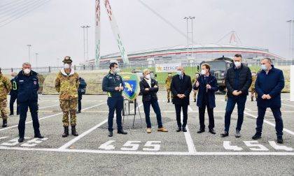 Hotspot Allianz Stadium per tamponi rapidi, oggi operativo LE FOTO