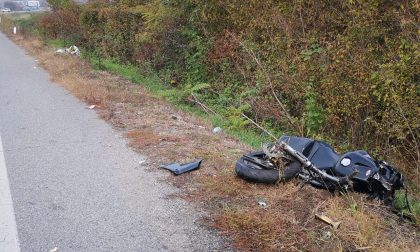 Incidente in Canavese, muore un motociclista