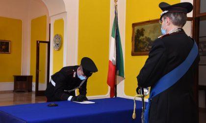 Giuramento degli Allievi Carabinieri alla Caserma Cernaia