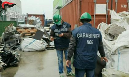 Deposito di rifiuti pericolosi sequestrato nel Canavese