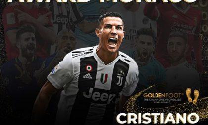 Cristiano Ronaldo vince il Golden Foot 2020