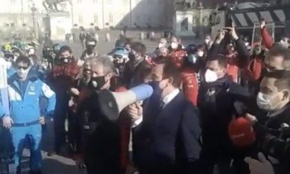 Protesta in piazza dei maestri di sci, Cirio li appoggia