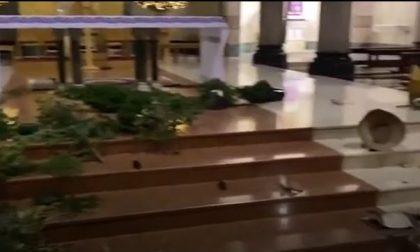 Devasta gli arredi di una chiesa: arrestato | IL VIDEO