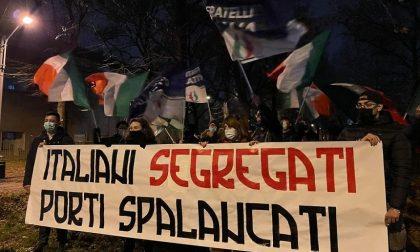 """La Destra in piazza contro immigrazione e """"porti aperti"""""""