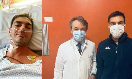 Gabry Ponte a casa: l'operazione è andata bene