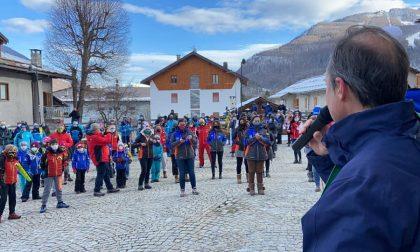 Traditi dalla politica: la protesta del mondo dello sci a Bardonecchia