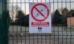 """""""Divieto di transito a tossici e spacciatori"""" il cartello comparso nell'area cani Brenta-Fossata"""