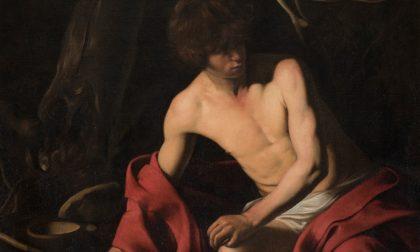 Arriva ai Musei Reali il San Giovanni Battista di Caravaggio