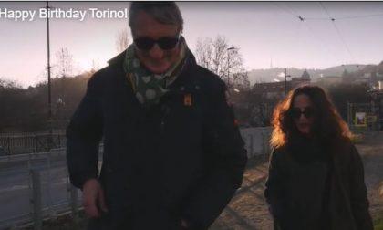 Omaggio di Torino Stratosferica per il compleanno della città