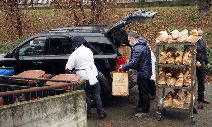 L'Alberghiero con gli Alpini dona pasti alle persone in difficoltà