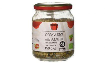 Rischio chimico, richiamato il Gomasio alle alghe bio prodotto a Torino