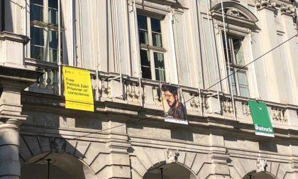 Patrick Zaki, esposti a Palazzo Civico due poster per chiederne la liberazione