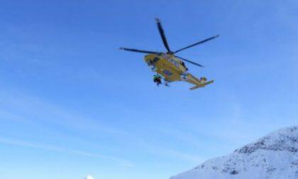 Speed rider torinese precipita sul Monte Bianco, è grave