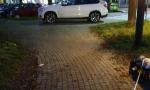 Corso Cincinnato: automobili parcheggiate sulla discesa dei disabili