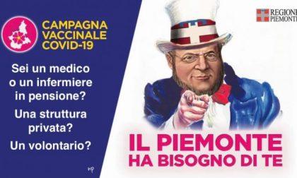 In Piemonte partita la vaccinazione degli over 70. Ma servono volontari e Cavour diventa lo zio Sam