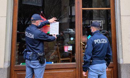 Norme anti Covid non rispettate: sanzionata titolare di un bar e pizzeria chiusa