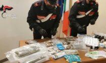 22 anni, perito informatico e spacciatore: trovato con 2,5 chili di droga