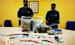 24enne incensurato trovato con tre chili di marijuana e 25mila euro in contanti